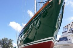 After Boat Polishing and Waxing - After 4