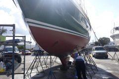Before Boat Polishing - Before 8