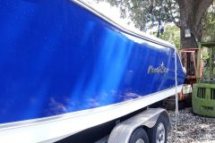 Bottom Painting and Boat Detailing - After 3