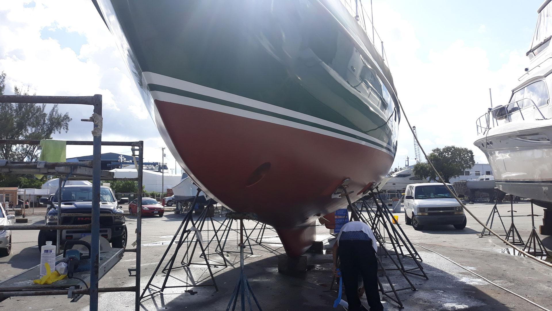 Fiberglass Repair in North Miami Beach, Fort Lauderdale, Pompano Beach