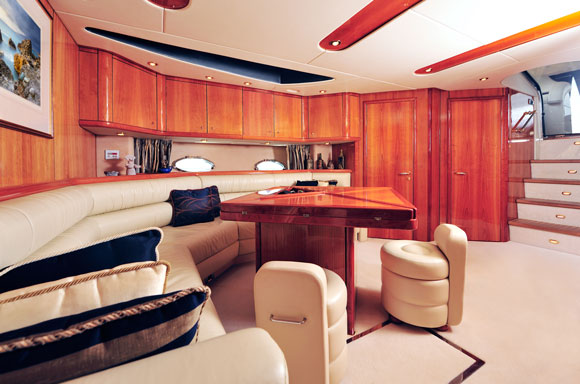 Boat Varnishing in Pompano Beach, and Interior Repair for Yachts and Boats