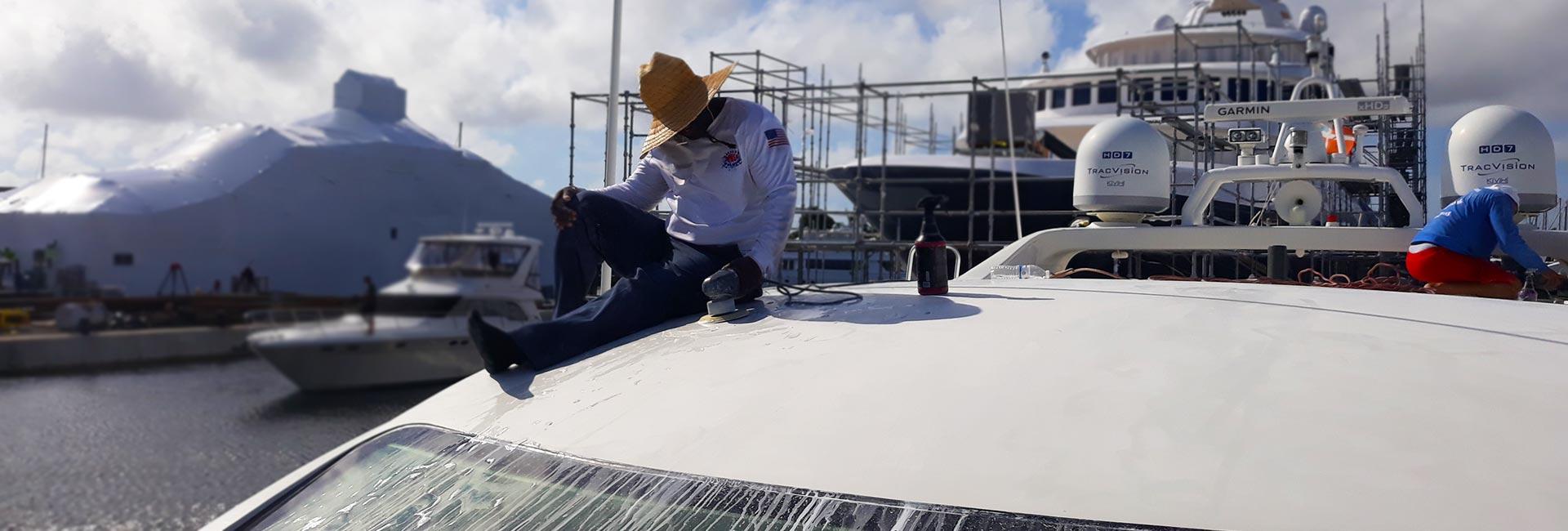 Fiberglass Repair in Key Biscayne, Pompano Beach, Fort Lauderdale, Hollywood