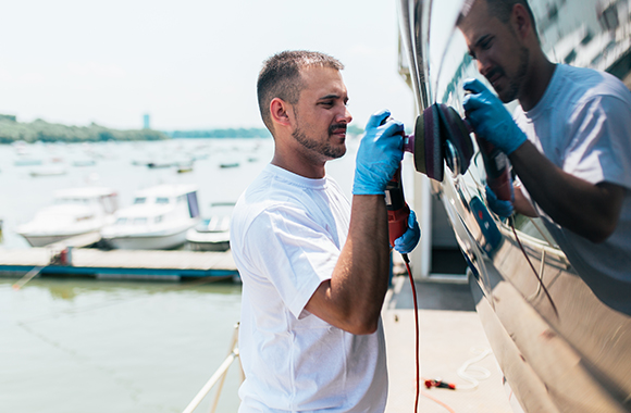 Boat Painter in Fort Lauderdale, Pompano Beach, North Miami Beach